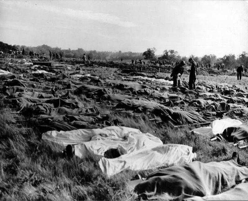 Почему в Соединенных Штатах скрывают трагедию «ночи кровавого Тигра» война, высадка в нормандии, история, сша, факты
